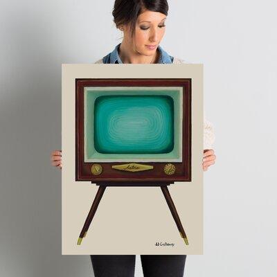 TV Set Painting Print Size: 24