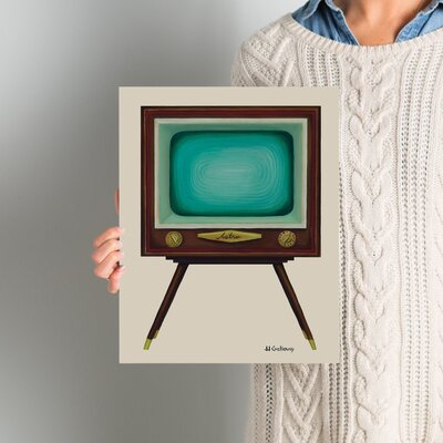 TV Set Painting Print Size: 14