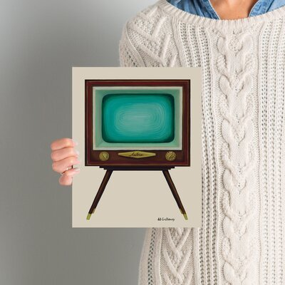 TV Set Painting Print Size: 10