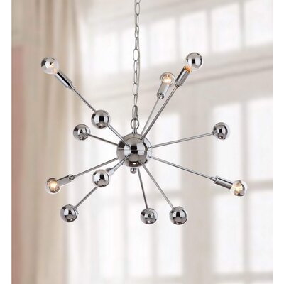Kalman Matrix Sputnik 6-Light Mini Pendant