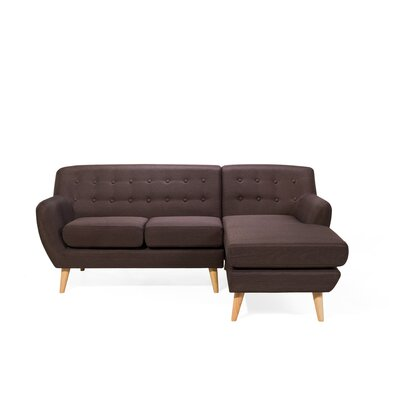 Kelton Sectional Upholstery: Chocolate