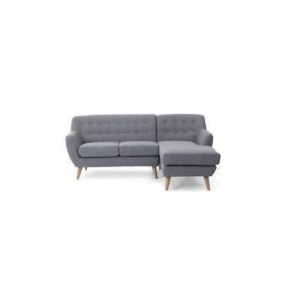 Kelton Sectional Upholstery: Light Gray
