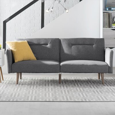 Fresno Convertible Sofa Finish: Gray