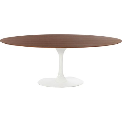 Larkson Oval Dining Table Top Finish: Walnut Veneer