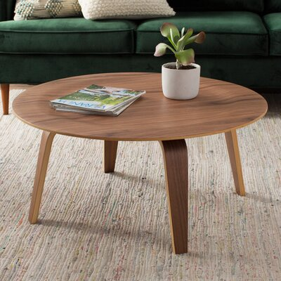 Finnur Coffee Table Finish: Walnut