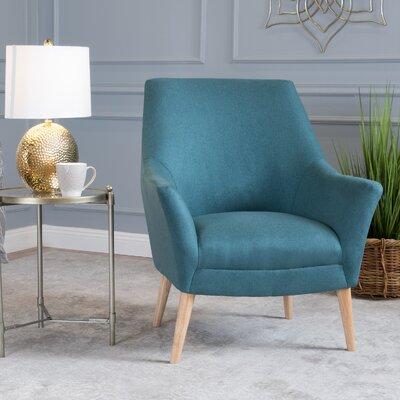 Blythe Armchair Upholstery: Dark Teal