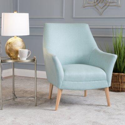 Blythe Armchair Upholstery: Light Blue