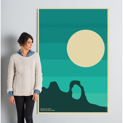 Arches Graphic Art on Wrapped Canvas Size: 60