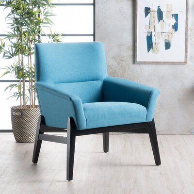 Kramer Fabric Armchair Upholstery: Teal