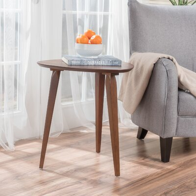 Boston End Table Color: Walnut