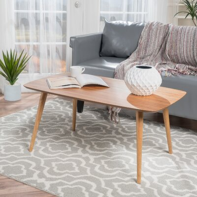 Elizabeth Coffee Table Color: Natural