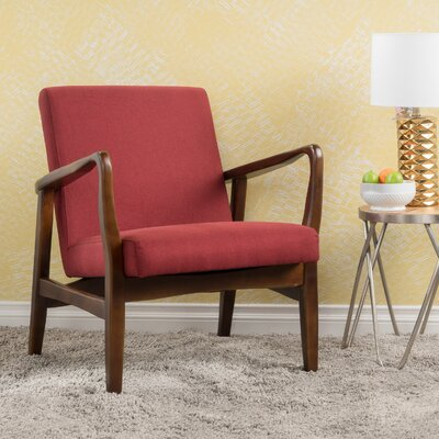 Vancouver Armchair Upholstery: Deep Red