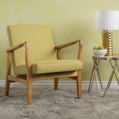 Vancouver Armchair Upholstery: Light Green