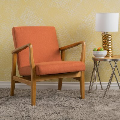 Vancouver Armchair Upholstery: Orange