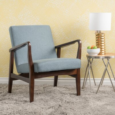 Vancouver Armchair Upholstery: Blue Gray