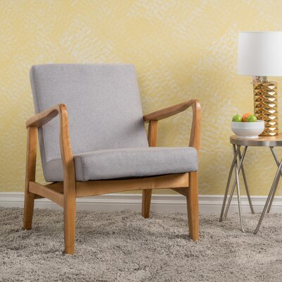 Vancouver Armchair Upholstery: Light Gray