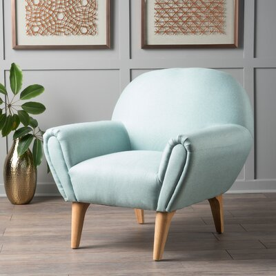 Aghaboy Armchair Upholstery: Light Blue