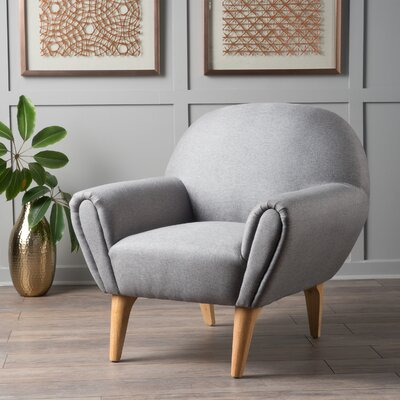 Aghaboy Armchair Upholstery: Gray