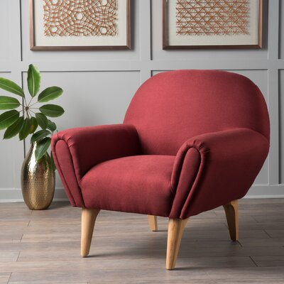 Aghaboy Armchair Upholstery: Deep Red