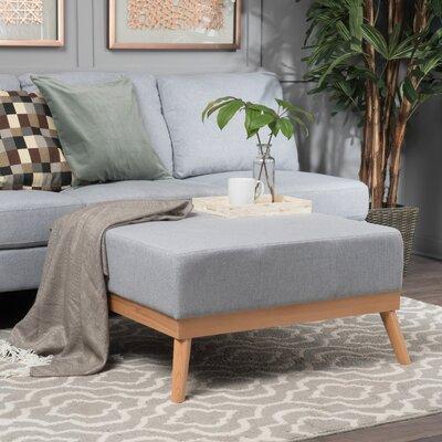 Devils Churn Ottoman Upholstery: Light Gray