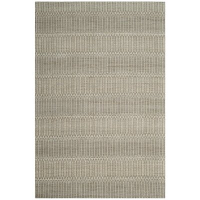 Alexandria Hand-Woven Camel/Gray Area Rug Rug Size: Rectangle 4' x 6'