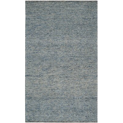 Daytona Beach Hand-Tufted Blue Area Rug Rug Size: Rectangle 5 x 8