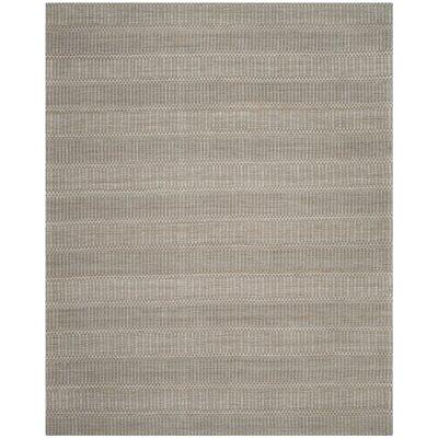 Alexandria Hand-Woven Camel/Gray Area Rug Rug Size: Rectangle 8 x 10