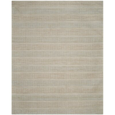 Alexandria Hand-Woven Blue/Gold Area Rug Rug Size: Rectangle 8 x 10