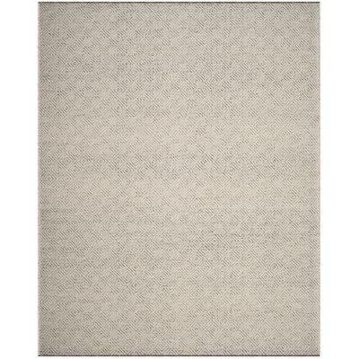 Daytona Beach Hand-Tufted Ivory Area Rug Rug Size: Rectangle 8 x 10