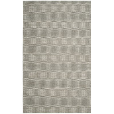 Alexandria Hand-Woven Camel/Gray Area Rug Rug Size: Rectangle 5 x 8