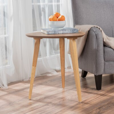 Boston End Table Color: Natural