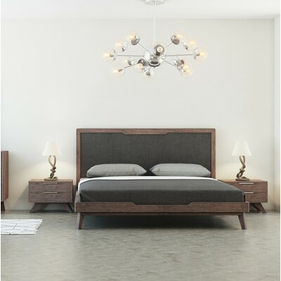 Hali Upholstered Platform Bed Size: Eastern King