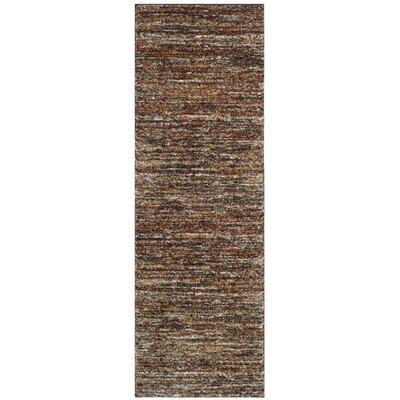 Gaines Ivory/Gold Area Rug Rug Size: Runner 23 x 9