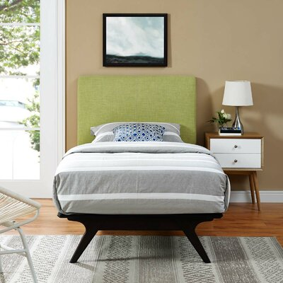 Modesto Twin Platform Bed Color: Green