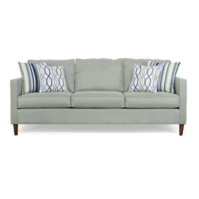 Del Lago Ivy Sofa Upholstery: Theo Apple / Adios Baltic / Mastri Baltic