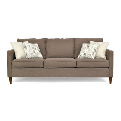 Del Lago Ivy Sofa Upholstery: Paradigm Cafe / Greymere Flax / Amore Onyx