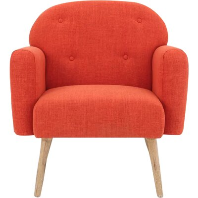 Hartford Armchair Upholstery: Orange