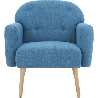 Hartford Armchair Upholstery: Blue