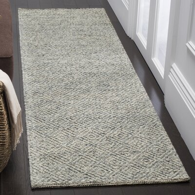 Daytona Beach Hand-Tufted Camel/Gray Area Rug Rug Size: Runner 23 x 8