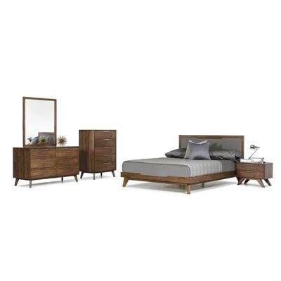 Hali Platform 5 Piece Bedroom Set Size: Eastern King