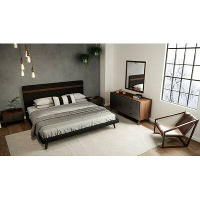 Lani Upholstered Platform Bed Size: King