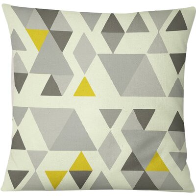 San Juan Indoor/Outdoor Throw Pillow Size: 16 H x 16 W, Color: Gray/Multi