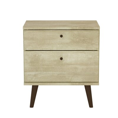 Norloti 2 Drawer Nightstand Color: Sand