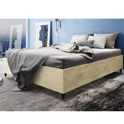 Norloti Queen Platform Bed Color: Sand