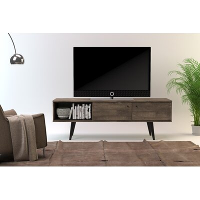 Norloti 63 TV Stand Color: Distressed Brown