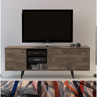 Norloti 71 TV Stand Color: Distressed Brown