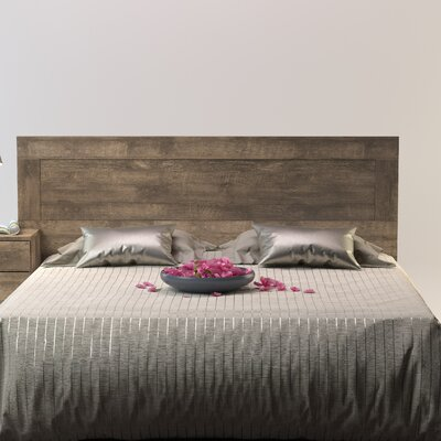 Norloti Queen Panel Headboard Color: Distressed Brown