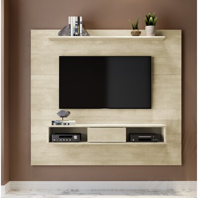 Norloti Mid-Century 2-Shelf 71 TV Stand Color: Alamo