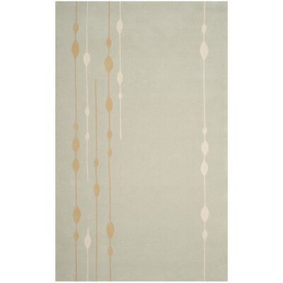 Bermondsey Hand-Tufted Light Green Area Rug Rug Size: Rectangle 5 x 8