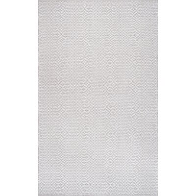 Asther Hand-Woven Taupe Area Rug Rug Size: Rectangle 4 x 6